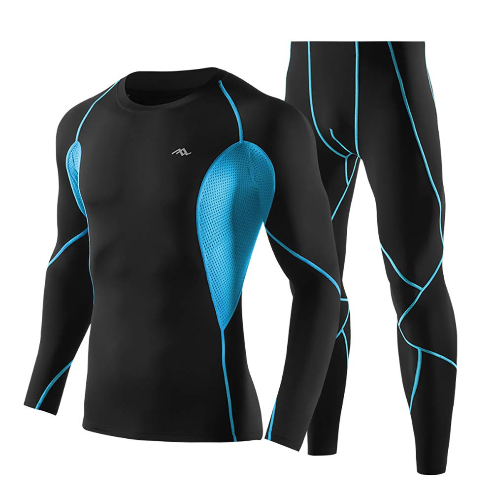 Sports Compression Suits Men Quick Dry Fitness Sportwear Tight Set Petit Tourbillon