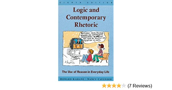 Amazon logic and contemporary rhetoric the use of reason in amazon logic and contemporary rhetoric the use of reason in everyday life 9780534524708 howard kahane nancy m cavender books fandeluxe Gallery