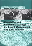Population and Community Ecology for Insect Management and Conservation : Proceedings of the Ecology and Population Dynamics Section, 20th International Congress Florence, 25-31 August, 1996, J. Baumgartner, 9054109300