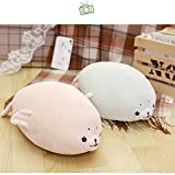 Software Feather Cotton Seal Dolls Plush Toy Office Essential Pillow Children Pamper Doll Birthday Gift,High 45cm