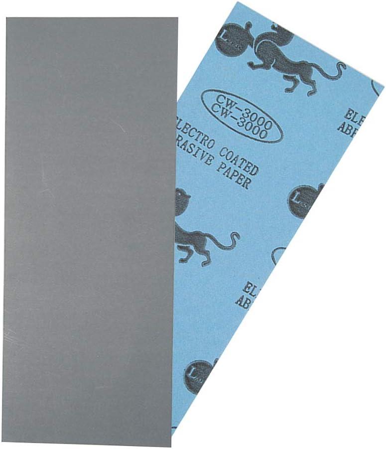 bjlongyi Wet Dry Sandpaper for Automotive Polishing Wood Furniture Finishing,9.06 x 3.54-inch 1500#