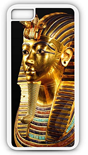 iPhone 8 Plus 8+ Case Tutankhamun TUT Boy King Pyramid Death Mask Pharos Valley of The Kings Customizable by TYD Designs in White -
