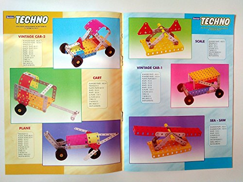 SENIOR TECHNO ,Construction Toys Mechanical Kit For Kids - (Age 6+) with guide book by JAGGERMART (Image #6)