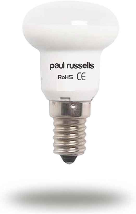 Pack de 3 bombillas LED de 3 W reflectantes E14 SES rosca Edison ...