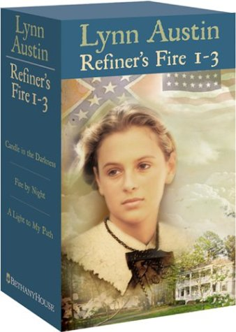 Candle in the Darkness/Fire by Night/A Light to My Path (Refiner's Fire Series 1-3) by Bethany House Publishers