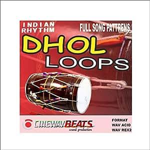 Amazon com: cb 1032 Dhol Loops, Bpm 92, key A sharp, 5 black