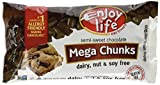 Enjoy Life Mega Chunks Gluten Free Non-GMO Semi-Sweet Chocolate -- 10 oz Each / Pack of 3