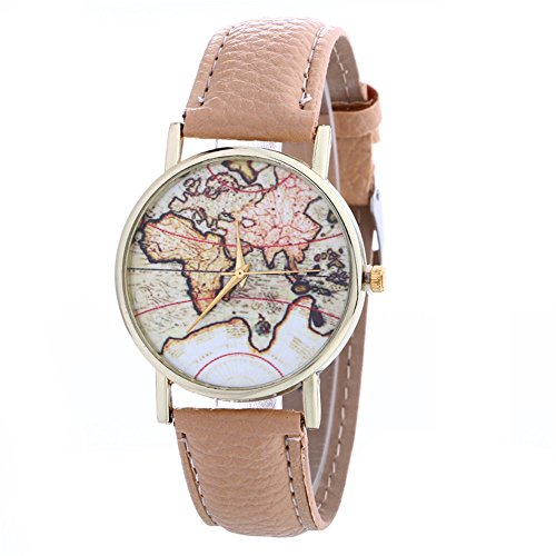 - Zaidern Women Wrist Watch Womens Creative Pattern Waterproof Analog Quartz Classical Leather Watches Ladies Casual Simple Round Dial Leather Strap Belt Wristwatch Luxury Retro Watches for Girls