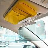 97 prelude visor - TRUE LINE Automotive Car Vehicle Extender Anti Glare Visor Blocker Tinted Sun Shield Sunscreen