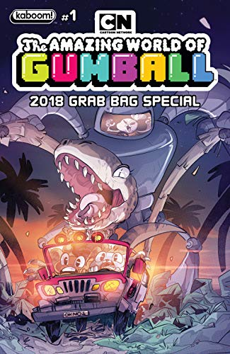 The amazing world of gumball the comic