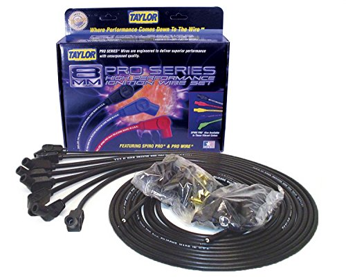 Taylor Cable 73053 Spiro-Pro Black Spark Plug Wire Set