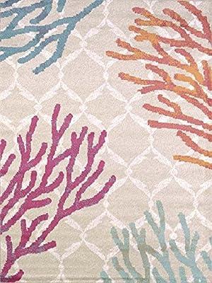 United Weavers Area Rugs: Regional Concepts Rugs: 541-50389 Reef Tropical