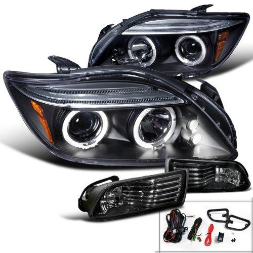 Scion Black Projector Headlights Lights