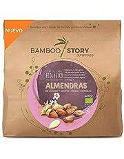 Nuovo Mandorle, Intere, Senza Guscima met leer, Crude, Biologico Bio Bamboo Story, 400 g