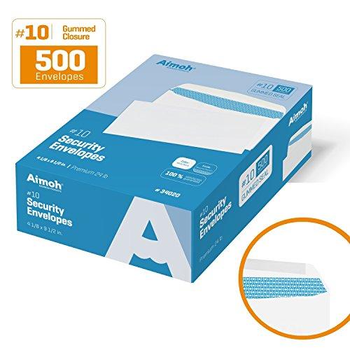 10 Envelopes 24 Lb Letter - 8