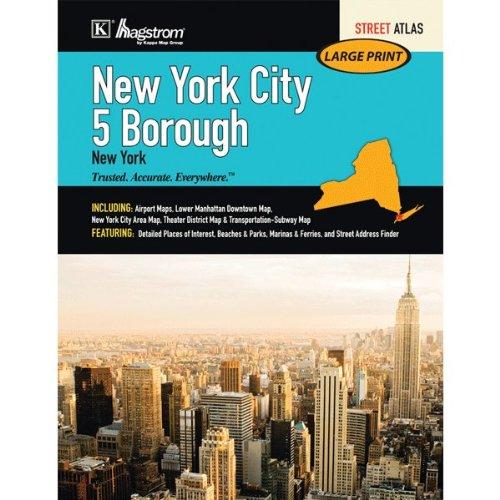 - Hagstrom New York City Five Borough Atlas, Large Scale Edition
