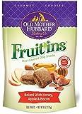 Old Mother Hubbard Gourmet Goodies Fruit'ins Crunchy Natural Dog Treats, Honey, Apple & Bacon, 6-Ounce Bag