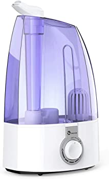 TaoTronics Ultrasonic 3.5L Cool Mist Humidifier for Home Baby Bedroom