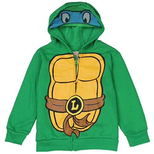 Ninja Turtles Toddler Little Boys Zip Hoodie Sweater