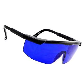 cab6a61bd0a Centtechi Golf Ball Finder Lunettes Bleu Lentilles Cadeau idéal pour la  fête des pères avec Étui