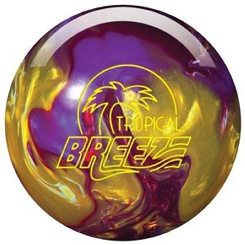 Storm Tropical Breeze Bowling Ball, Purple/Gold/Cherry , 14-Pound