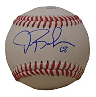 Texas Rangers Drew Robinson Autographed Hand Signed Baseball with Proof Photo and COA