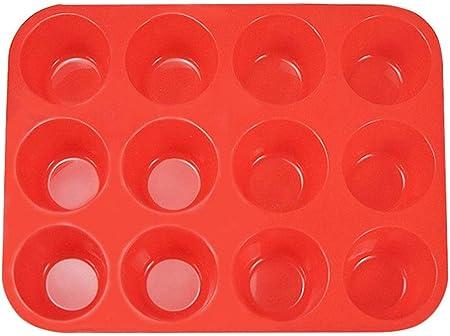 Material: gel de sílice. Color: rojo,Tamaño: 29.5 * 22 * 3CM (largo * ancho * alto).,Moldes para pas