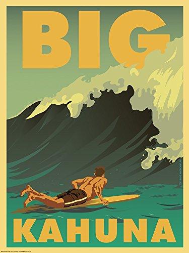 Big Kahuna by American Flat Art Print, 26 x 35 inches