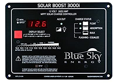 Best Cheap Deal for 12V/30A 400W MPPT Solar Boost 3000i Solar Charge Controller SB3000i by BLUE SKY ENERGY - Free 2 Day Shipping Available