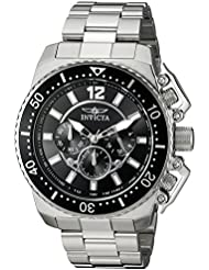 Invicta Mens Pro Diver Quartz Stainless Steel Casual Watch (Model: 21952)