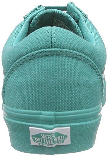 Vans Zapatillas, Unisex Adulto Verde (Mono/Bright Aqua)