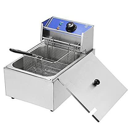 up f com dp commercial fryer deg electric dual basket deep to countertop tank amazon