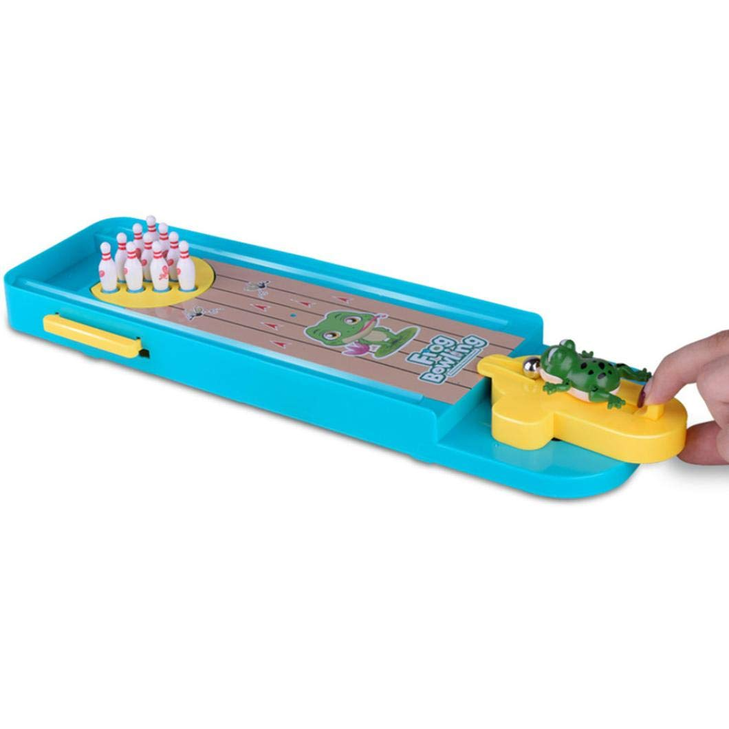 Kanzd Novelty Funny Indoor Game Gas Out Board Game Desktop Games Toy Bowling Kid (A) by Kanzd (Image #4)