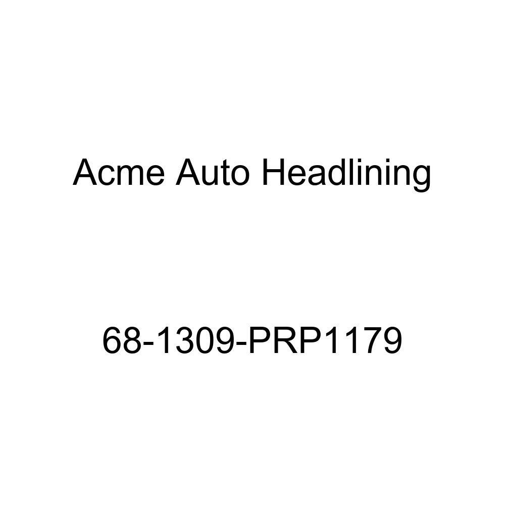 Cadillac Brougham Fleetwood 4 Door Sedan 6 Bow Acme Auto Headlining 68-1309-PRP1179 Black Replacement Headliner