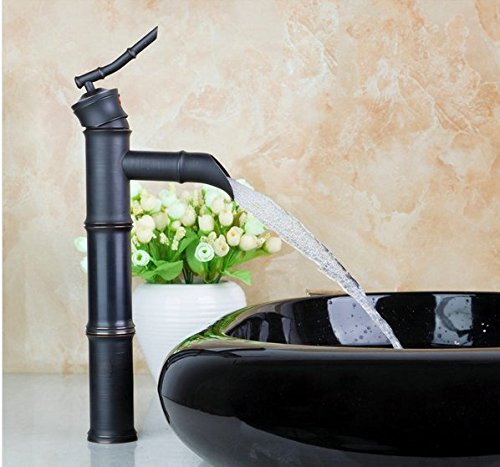 GOWE Tall Black Basin Tap Artistic Wash Basin Counter Hand Paint Color Washbasin Ceramic Sink Mixer Tap Faucet Basin 2