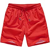 Amazon.com: Red - Workout Shorts / Shorts: Sports & Outdoors