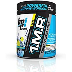 BPI Sports 1.M.R One More Rep Ultra Concentrated Energy Supplement, Blueberry Lemonade, 8.5 Ounce