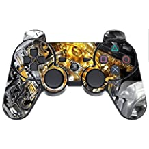 Engine Gold VINYL DECAL for PS3 Dual Shock Wireless Controller (skin, sticker)