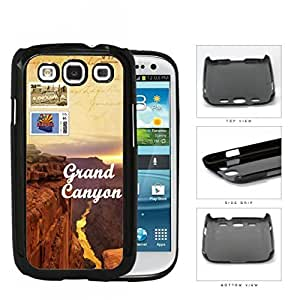 Grand Canyon Arizona Sunset Postcard Hard Plastic Snap On Cell Phone Case Samsung Galaxy S3 SIII I9300