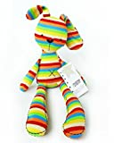 Rainbow Rabbit With Mamas & Papas Tag Iridescent Baby Bunny Girl Doll Toy - US Stock