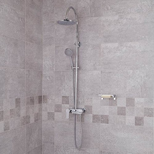 Palmera Premium Rigid Riser Rail Kit by Better Bathrooms (Rigid Riser Kit)