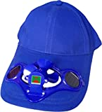 Green Horizons Solar Cap With Fan (Blue)