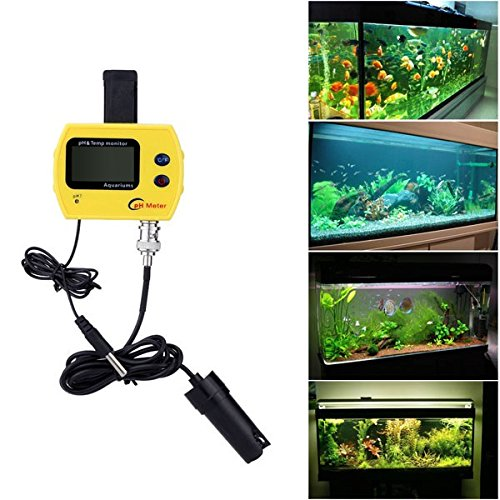 PH-991 Portable PH Meter Aquarium Swimming Pool Acidimeter Analyzer Water Quality pH &Temp Monitor by Thailand (Image #2)