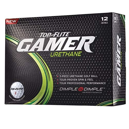 Top-Flite Gamer Urethane Golf Balls