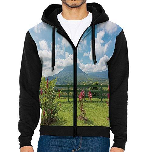 (3D Printed Hoodie Sweatshirts,Point Costa Rica Scenic,Hoodie Casual Pocket Sweatshirt )