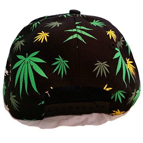 De Múltiples plana Impresión Gorra de con con Ice King plantas marihuana de diseño unisex de visera ZRRx6EqOw