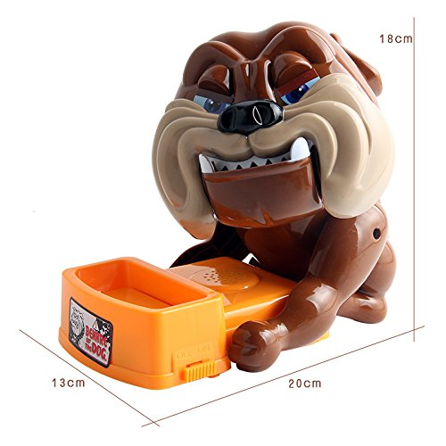 NTBN Shark Dog Game Large Bulldog Crocodile Shark Mouth Dentist Bite Finger Game Toy Funny Gag Interaction Joke Toy for Kids Children Play Fun Gifts by NTBN