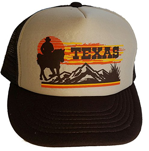 Texas Sunset Cowboy Trucker Snapback product image