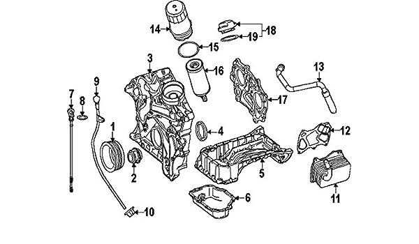 Amazon.com: Mercedes-Benz 276 010 65 07, Engine Oil Pan: AutomotiveAmazon.com