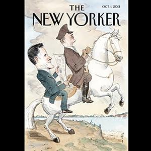 The New Yorker, October 1st 2012 (Nicholas Lemann, Ian Parker, Emily Nussbaum) Periodical